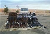 بالصور.. المتحدث العسكري: ضبط 6 صواريخ و4 مقذوفات مضادة للدبابات و48