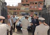 محافظ كفر الشيخ ومدير الأمن يتفقدان إدارة التدريب بسخا