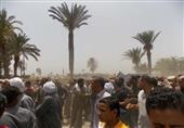 بالصور..محافظ بني سويف يغيب عن جنازة شهيد القوات المسلحة بالعساكرة