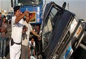 ارتفاع ضحايا انقلاب سيارة شرطة ببني سويف لـ15 بينهم 13 مجندًا