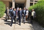 محافظ أسيوط ورئيس جامعة الأزهر يتفقدان أعمال الامتحانات بكليات فرع أسيوط