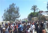 بالصور..الآلاف يشيعون جثمان فقيد الجيش بمسقط رأسه بكفر الشيخ