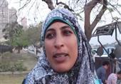 """بالفيديو- مناصرة لمبارك: """"استخرت الله لاختيار هذه الهدية للريس"""""""