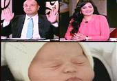 تعليق رانيا بدوي وعمرو اديب عن المولودة الجديدة لأمير بريطانيا