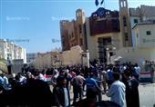 إصابة 8 أشخاص في فض تجمهربعد وفاة محتجز بمركز شرطة رشيد
