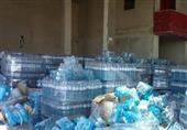 ضبط مصنع لتعبئة المياه غير مطابق للمواصفات بالبحيرة