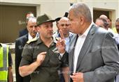 محلب يتفقد عناصر القوات المسلحة والشرطة بشمال سيناء