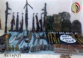 ننشر صورة الأسلحة المضبوطة مع العناصر الإرهابية في هجمات سيناء