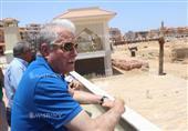 محافظ جنوب سيناء يتفقد تطوير وتوسعة الطرق في شرم الشيخ