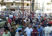 """بالصور.. زغاريد وتصفيق فى جنازة """"ضابط سيناء"""" فى الإسكندرية"""