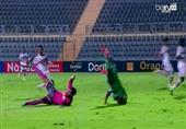 فيديو- سقوط مروع للاعب ليوبارد أمام الشناوي أدى لإصابته بشلل رباعي