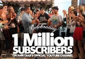 """كيف سيحتفل عمرو دياب بوصول قناته على """"يوتيوب"""" لمليون مشترك؟"""