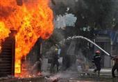 مصرع 12 عاملاً في حريق هائل بمصنع أثاث بالعبور