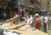 بالصور..حملة مكبرة لإزالة الإشغالات بمدينة دسوق في كفر الشيخ