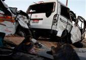 مصرع عاملين اثنين وإصابة 20 آخرين في حادثي سير بالمنيا