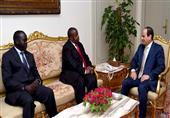 السيسي: دراسة مقترح أوغندا باستضافة مصر لمؤتمر القومية الأفريقية