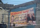 صور.. الاستعدادات النهائية للعزاء الشعبي لشهداء سيناء والنائب العام بالمنصورة