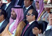 """""""ولي ولي العهد السعودي يشارك السيسي حضور حفل خريجي بعض المعاهد والكليات العسكرية"""
