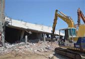 بالصور - إزالة ١٥٩ حالة تعد على نهر النيل بكفر الشيخ