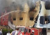 القبض على أحد ملاك مصنع العبور المحترق