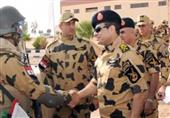 أول تصريح للسيسي فور وصوله سيناء مرتدياً الزي العسكري