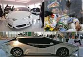 بالصور.. تعرف على السيارة التي صممها معمر القذافي!