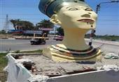 استبدال تمثال