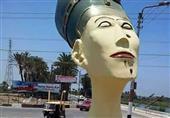 بالفيديو.. رئيس مجلس مدينة سملوط يوضح المتسبب في إتلاف تمثال نفرتيتي