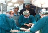 فريق طبي بجامعة المنصورة يستأصل ورمًا يزن 30 كجم