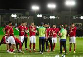 بالصور- الأهلي يختتم استعداداته للمصري.. ومبروك: لا بديل عن الفوز
