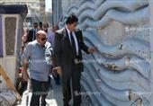 بالصور.. محافظ الإسكندرية يشهد أعمال ترميم جدارية سيدي جابر بعد 6 سنوات من الإهمال