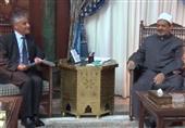 بالفيديو.. السفير الإيطالي يعزي شيخ الأزهر في ضحايا سيناء