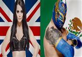 بالصور- تعرف على نجوم WWE الحاليين بأعلام بلادهم