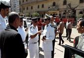 أمن الجيزة يشن حملة لإزالة الإشغالات وملاحقة الباعة الجائلين