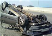 إصابة مستشار بالنيابة الإدارية ومصرع زوجته في حادث مرورى ببني سويف