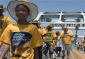 نشطاء أمريكيون يبدأون مسيرة 40 يوما لدعم الحقوق المدنية