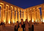 إقبال ملحوظ من السياح على المناطق الأثرية في الأقصر