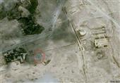 صور بالقمر الصناعي تظهر تدمير معبد بعل شمين في تدمر السورية