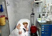 """""""ريهام سعيد"""" في المستشفى """"والميك اب"""" يثير الجدل"""