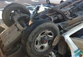 مصرع 3 عمال بمصنع صلب وإصابة 9 في انقلاب سيارة