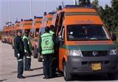 90 سيارة إسعاف ثابته ومتحركة في احتفالات المنوفية بافتتاح القناة