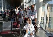 بالصور- الفوج الأول للحجاج يغادر للأراضى المقدسة من مطار برج العرب الدولي