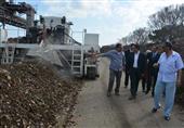 بالصور- جولة مفاجئة لمحافظ الإسكندرية بمصنع السماد العضوي بأبيس