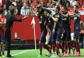 بالفيديو- أتلتيكو مدريد يقتنص فوزا مستحقا من أشبيلية بثلاثية في الدوري الإسباني