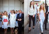 الملكة رانيا وابنتها: نسخة طبق الأصل في الجمال والأناقة