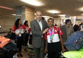 محافظ الوادي الجديد يستقبل صاحب ذهبية تنس الطاولة في الأولمبياد الخاص