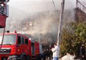 السيطرة على حريق بمصنع أحذية بالشرابية
