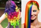 بالصور: ألوان قوس قزح .. أحدث صيحات صبغ الشعر