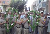 أهالي محلة أبو علي بالغربية يتشحون بالسواد لتوديع ضحية اشتباكات سيناء