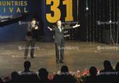 بكاء محمود ياسين في افتتاح مهرجان الاسكندرية السينمائي